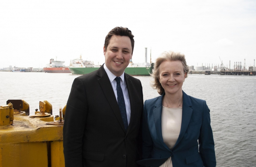 Ben Houchen and Liz Truss MP