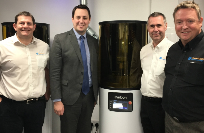 Silicon Valley 3d print specialists use Tees Valley firm as first UK production partner
