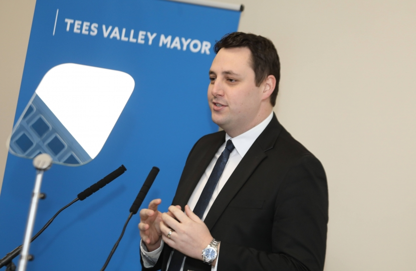 'Invest at Teesside Airport' – Mayor Ben Houchen's pitch at major offshore wind conference