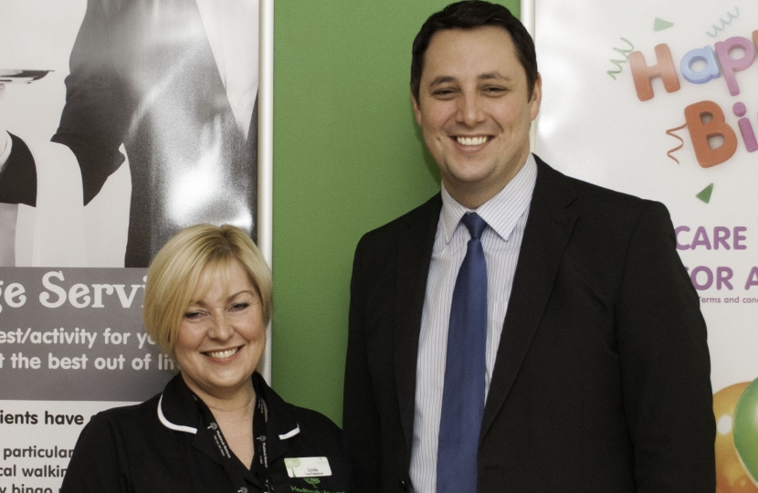 Tees Valley Mayor Ben Houchen with Linda McPartland